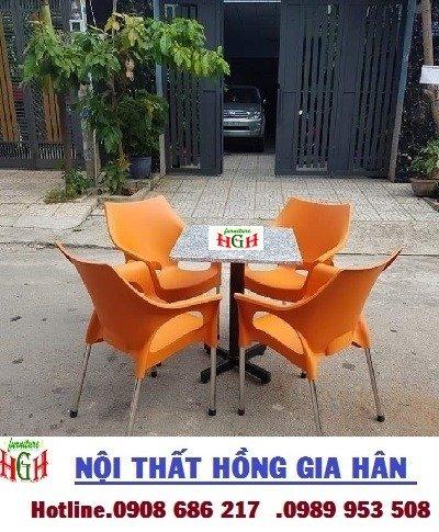 Ghế nhựa cafe  HGH 012