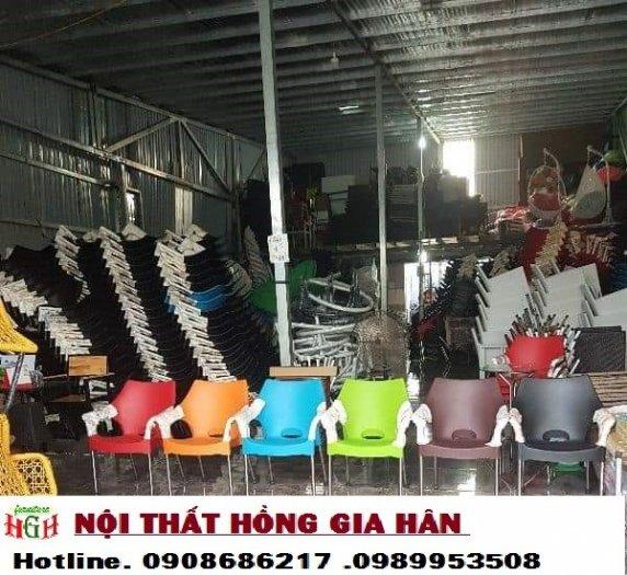 Ghế nhựa cafe  HGH 011