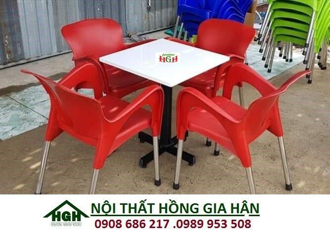 Ghế nhựa cafe HGH 61