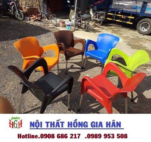 Bàn ghế nhựa sân vườn giá rẻ nhất HGH80