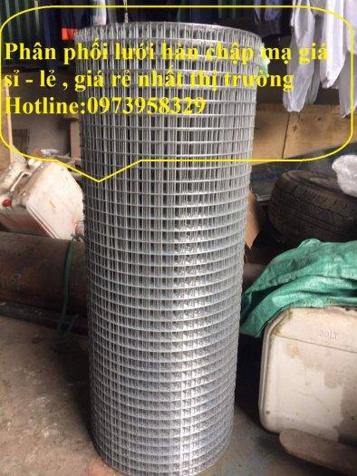 Lưới thép hàn mạ kẽm - thép đen phi 4 ( 50*50) lưới làm giàn lan , lưới hàng rào , lưới đổ sàn6