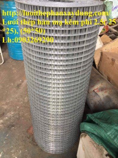 Lưới thép hàn mạ kẽm - thép đen phi 4 ( 50*50) lưới làm giàn lan , lưới hàng rào , lưới đổ sàn5