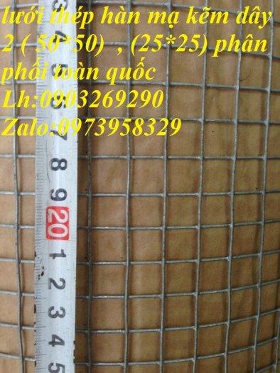 Lưới thép hàn mạ kẽm - thép đen phi 4 ( 50*50) lưới làm giàn lan , lưới hàng rào , lưới đổ sàn3