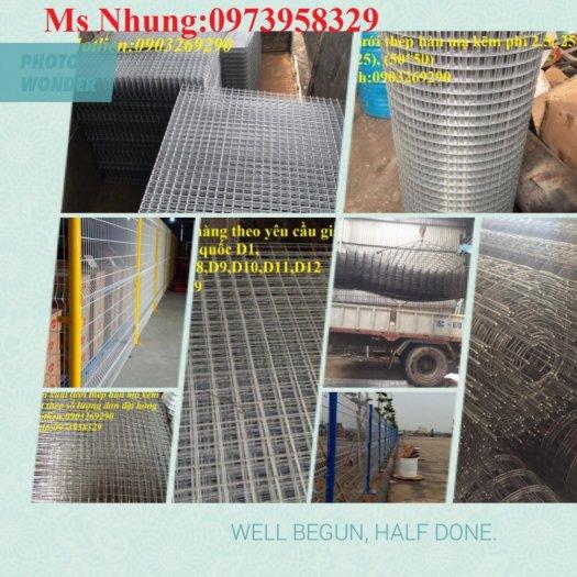 Nhận sản xuất lưới thép hàn - lưới kéo giãn - lưới hàng rào phi 1, phi 2, phi 2.5, phi 2.7 ,......phi 10, phi 11, phi 1226