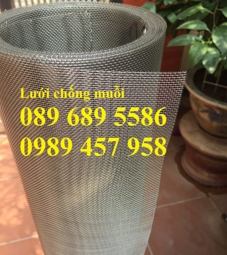 Lưới inox chống muỗi, Lưới chống chuột, lưới đan inox304, Lưới hàn inox giá rẻ6