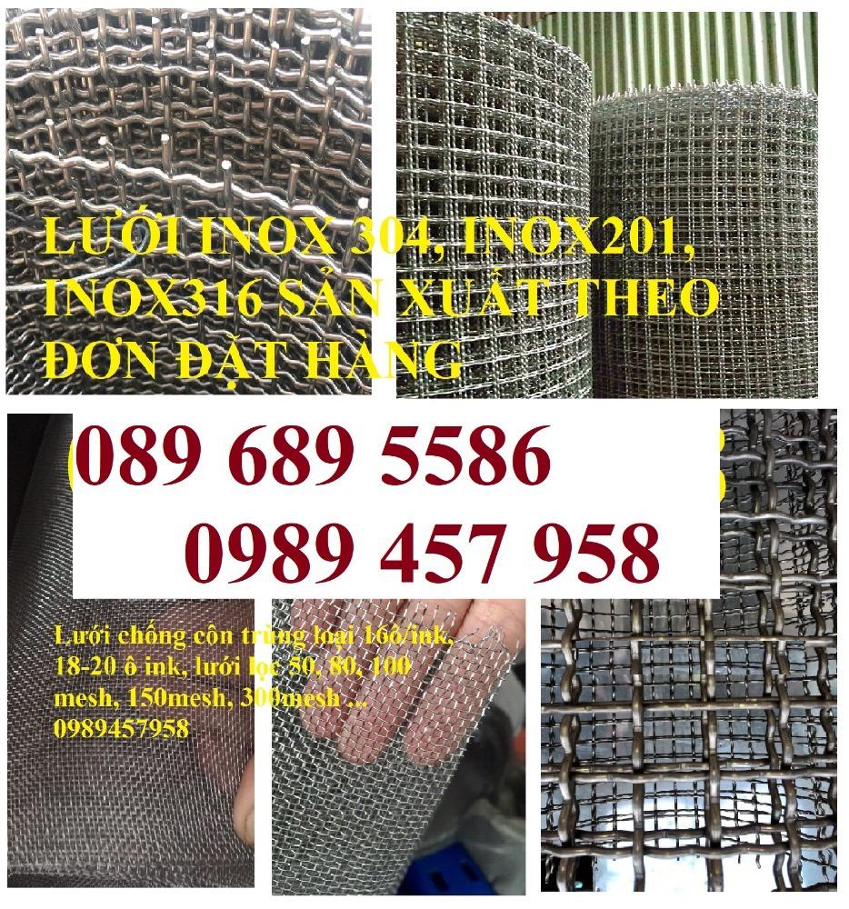 Lưới inox chống muỗi, Lưới chống chuột, lưới đan inox304, Lưới hàn inox giá rẻ2