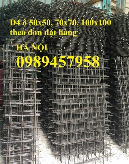 Lưới thép tấm Phi 4, phi 5, phi 6, phi 8 lưới thép đổ sàn 200x2003