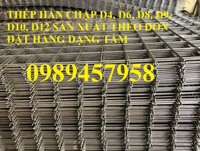 Lưới thép tấm Phi 4, phi 5, phi 6, phi 8 lưới thép đổ sàn 200x2000