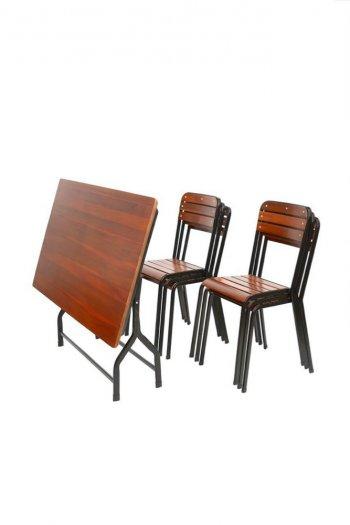 Bộ bàn ghế quán ăn giá rẻ1