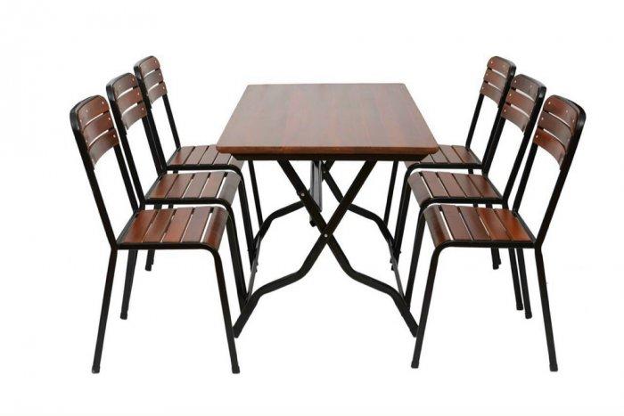 Bộ bàn ghế quán ăn giá rẻ4