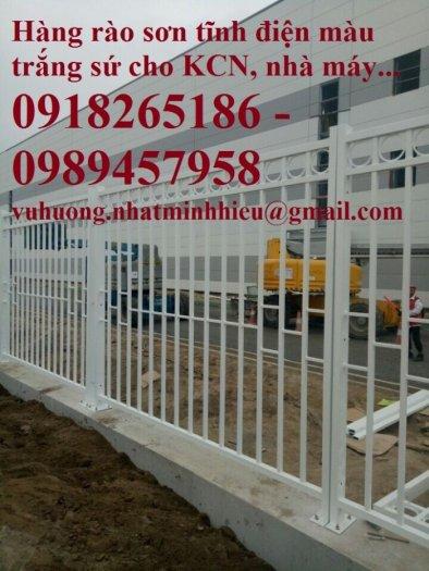 Hàng rào thép, vách rào ngăn kho, hàng rào ngăn xưởng7