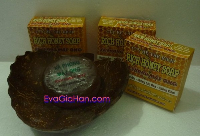 Xà Phòng dầu dừa mật ong sản xuất xà phòng oraganic chất lượng7