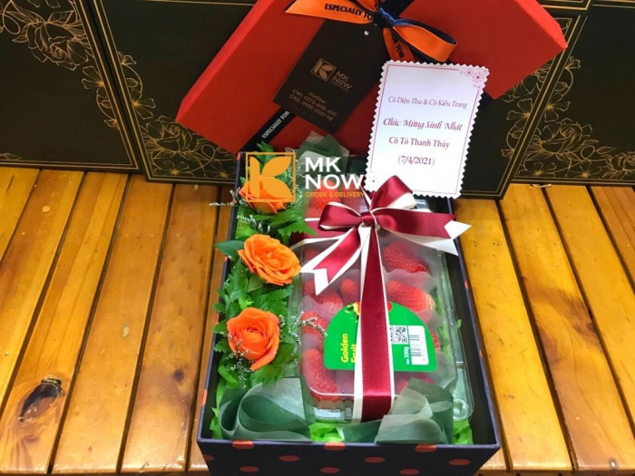 Quà tặng dâu tây - Hộp quà dâu tây Korea - FSNK240 | MKnow.vn - 0373 600 600 (Zalo 24/24)1