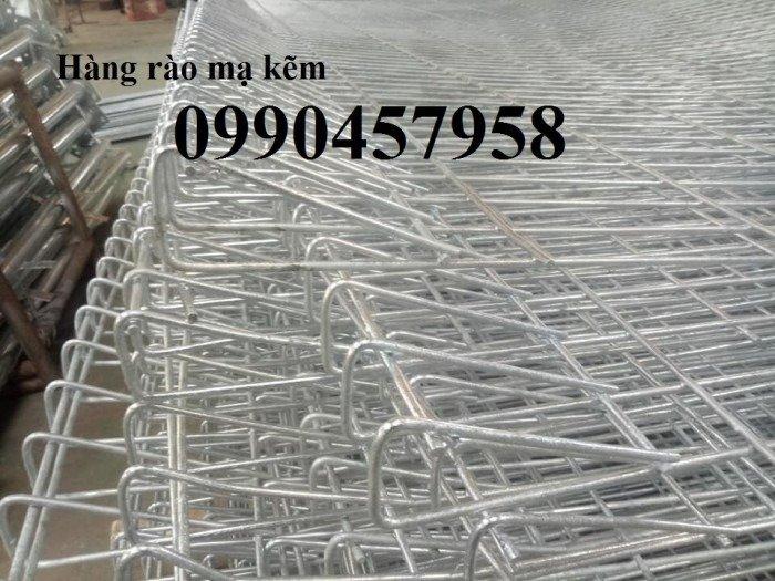Hàng rào mạ kẽm nhúng nóng phi 5 ô 50x150, 50x200, 50x50 giá tốt2