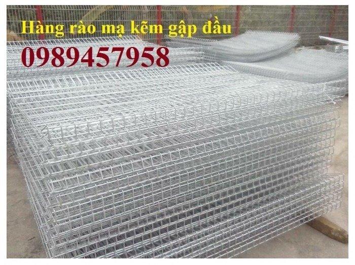 Hàng rào mạ kẽm nhúng nóng phi 5 ô 50x150, 50x200, 50x50 giá tốt0