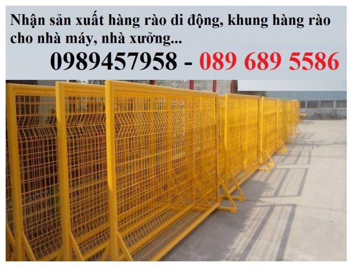 Hàng rào điều tiết giao thông, hàng rào chắn tạm thời, Hàng rào chắn có bánh xe14