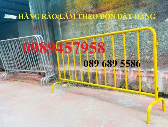Hàng rào điều tiết giao thông, hàng rào chắn tạm thời, Hàng rào chắn có bánh xe5
