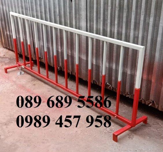 Hàng rào điều tiết giao thông, hàng rào chắn tạm thời, Hàng rào chắn có bánh xe3
