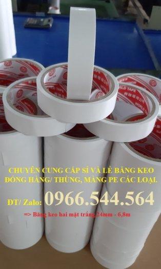Băng keo 2 mặt trắng 24mm - 9Y2