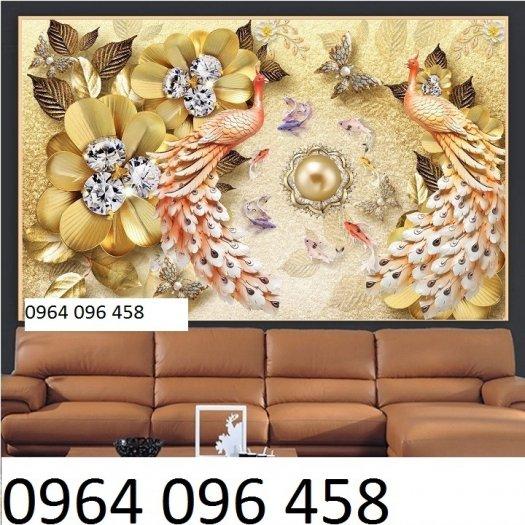 Tranh 3d - tranh gạch 3d phòng khách - phòng ngủ8