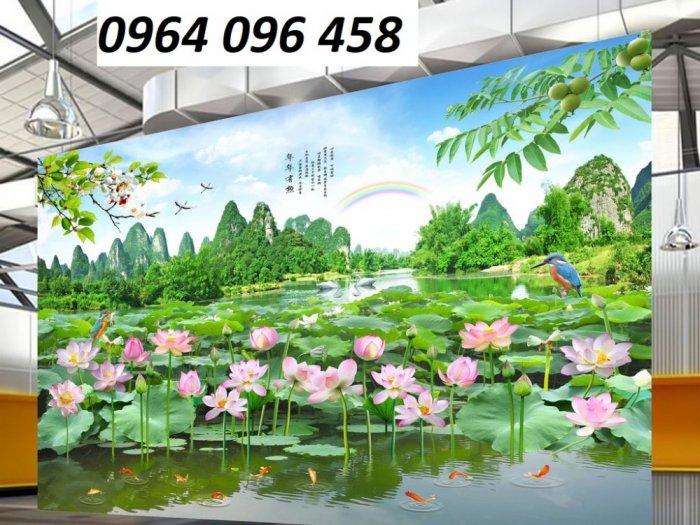 Tranh phong cảnh - tranh gạch phong cảnh 3d - 73SKK9