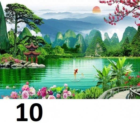 Tranh phong cảnh - tranh gạch phong cảnh 3d - 73SKK8