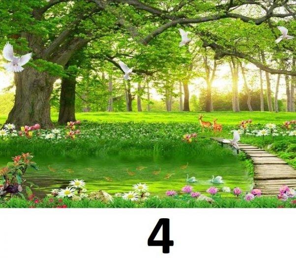 Tranh phong cảnh - tranh gạch phong cảnh 3d - 73SKK6