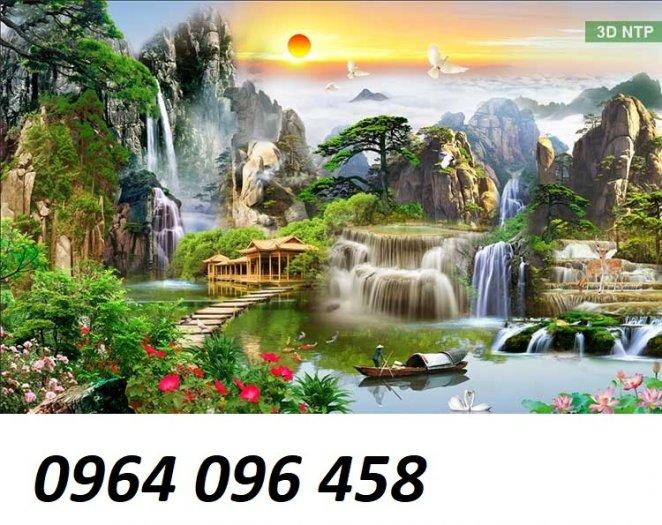 Tranh phong cảnh - tranh gạch phong cảnh 3d - 73SKK2
