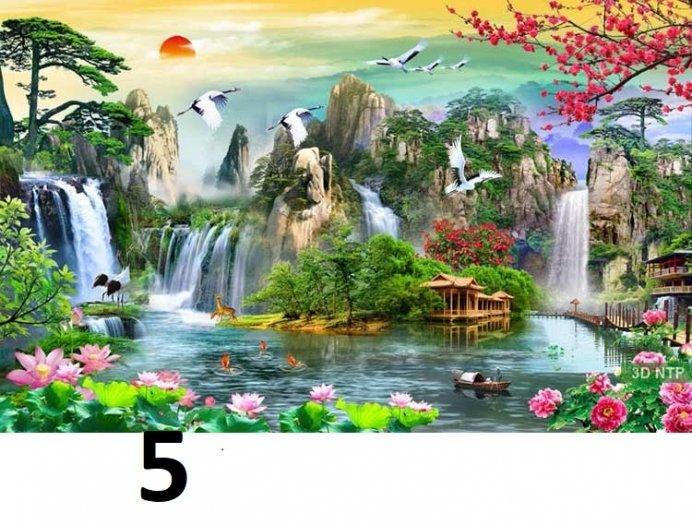 Tranh phong cảnh - tranh gạch phong cảnh 3d - 73SKK0