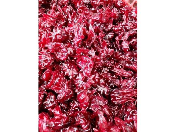 MỨT ATISO ĐỎ( Hibiscus) cực giòn-túi 1kg2