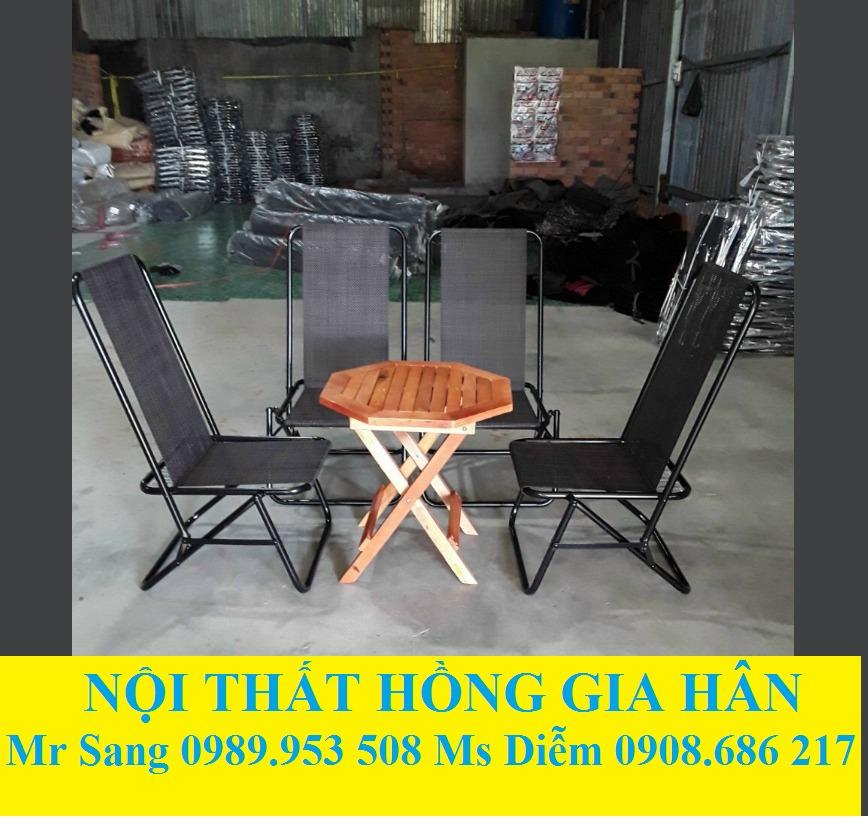 Bộ Bàn Ghế Cafe Cóc Giá Siêu Rẻ HGH0