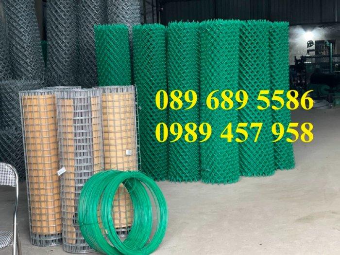 Lưới hàng rào b40 bọc nhựa, lưới thép bọc nhựa ô 10x10, 20x20, 30x30, 50x506
