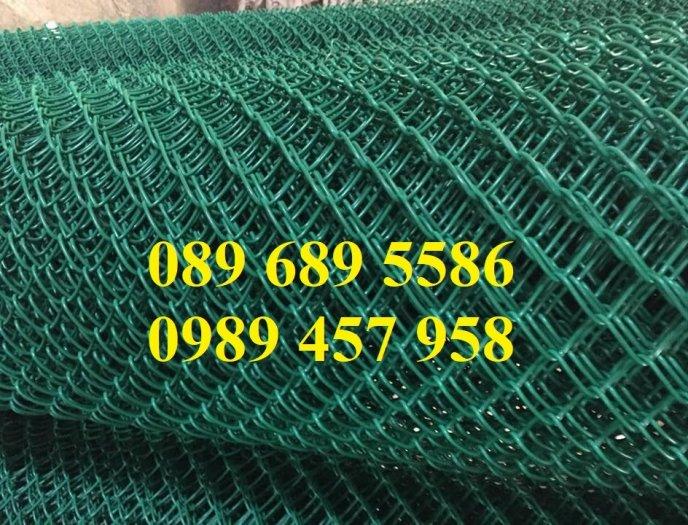 Lưới hàng rào b40 bọc nhựa, lưới thép bọc nhựa ô 10x10, 20x20, 30x30, 50x505