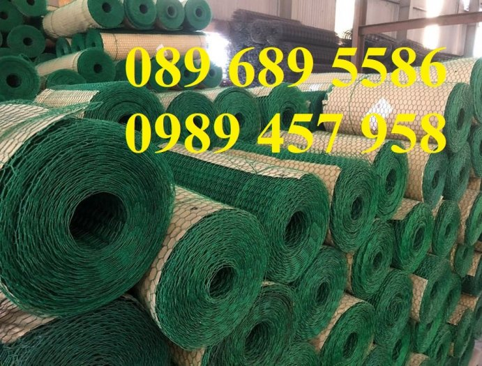 Lưới hàng rào b40 bọc nhựa, lưới thép bọc nhựa ô 10x10, 20x20, 30x30, 50x502