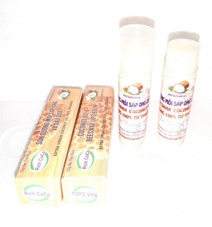 Dầu dừa nguyên chất dưỡng môi chai bi lăn nguồn hàng sỉ  Công ty TNHH Be The Rich - 0975 603 0047