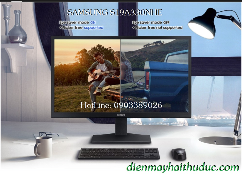 Màn hình 18,5 Samsung S19A330NHE chính hãng 100%2
