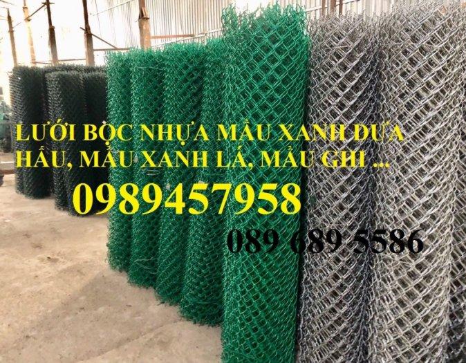 Lưới b40 bọc nhựa mới 100%, Lưới rào B40 bọc nhựa, mạ kẽm11