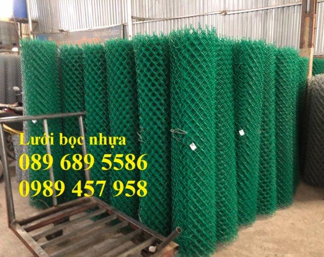 Lưới b40 bọc nhựa mới 100%, Lưới rào B40 bọc nhựa, mạ kẽm9