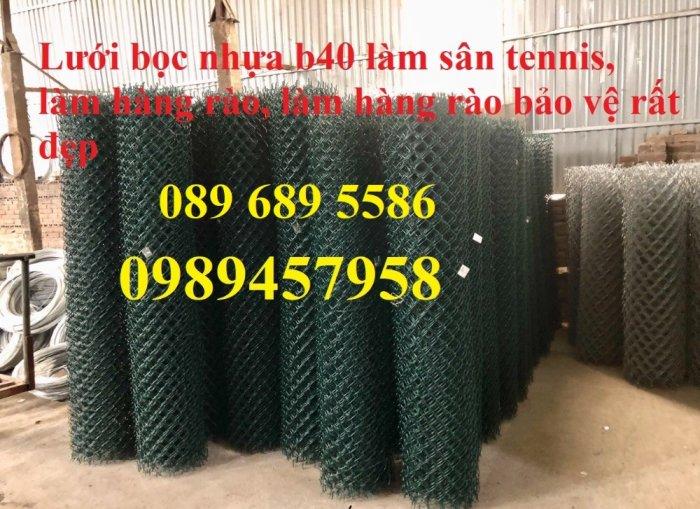 Lưới b40 bọc nhựa mới 100%, Lưới rào B40 bọc nhựa, mạ kẽm7