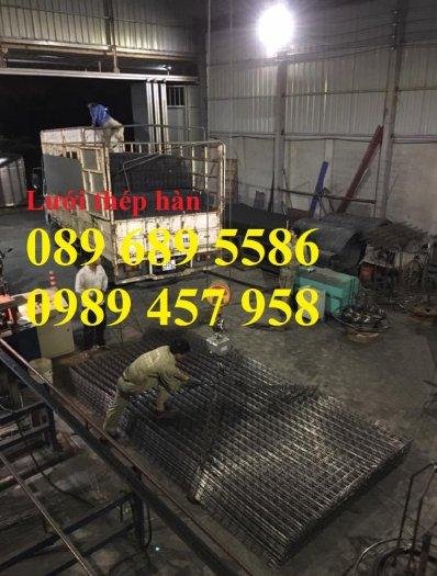 Xưởng sản xuất lưới thép hàn chập phi 6 ô 50x50, 100x100, Lưới thép hàn phi 6 ô 200x2009