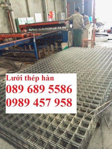 Xưởng sản xuất lưới thép hàn chập phi 6 ô 50x50, 100x100, Lưới thép hàn phi 6 ô 200x2008