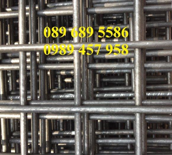 Xưởng sản xuất lưới thép hàn chập phi 6 ô 50x50, 100x100, Lưới thép hàn phi 6 ô 200x2003