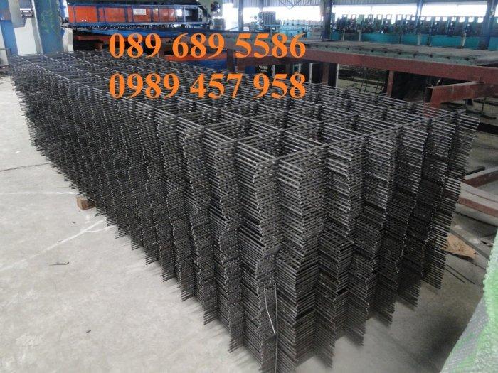 Xưởng sản xuất lưới thép hàn chập phi 6 ô 50x50, 100x100, Lưới thép hàn phi 6 ô 200x2001