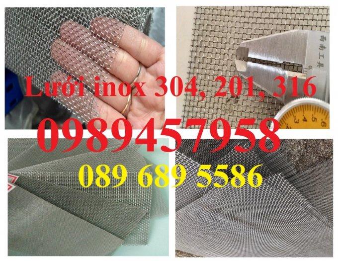 Lưới chống muỗi inox 316, Lưới inox 304 chống côn trùng, Lưới inox316, inox 210 và inox3044