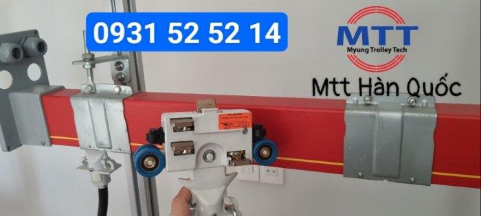 Chổi tiếp điện hộp kín 7P MCL LeeYoung7