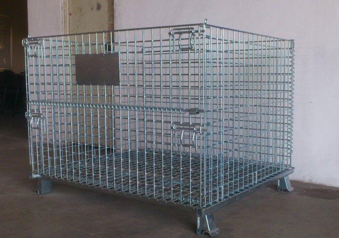 Lồng trữ hàng container, lồng thép, lồng thép xi mạ, lồng sắt, Stocky 1200X1000X9002