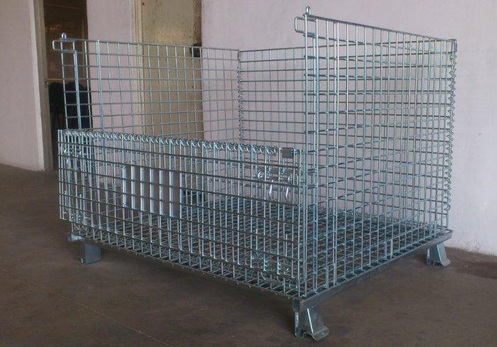 Lồng trữ hàng container, lồng thép, lồng thép xi mạ, lồng sắt, Stocky 1200X1000X9001