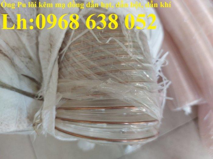 Giá ống nhựa Pu lò xo lõi đồng phi200 dùng cho quạt hút bụi công nghiệp21