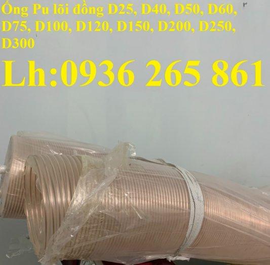 Giá ống nhựa Pu lò xo lõi đồng phi200 dùng cho quạt hút bụi công nghiệp19