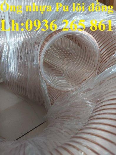 Giá ống nhựa Pu lò xo lõi đồng phi200 dùng cho quạt hút bụi công nghiệp14